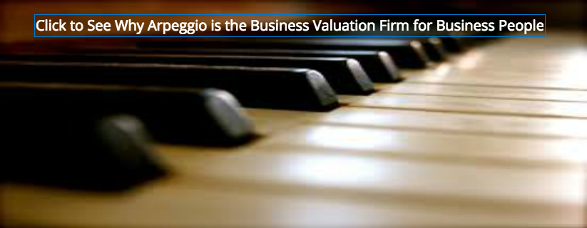 Click to See Why Arpeggio is the Business Valuation Firm for Business People